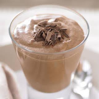 Chocolate and Irish Cream Mousse.