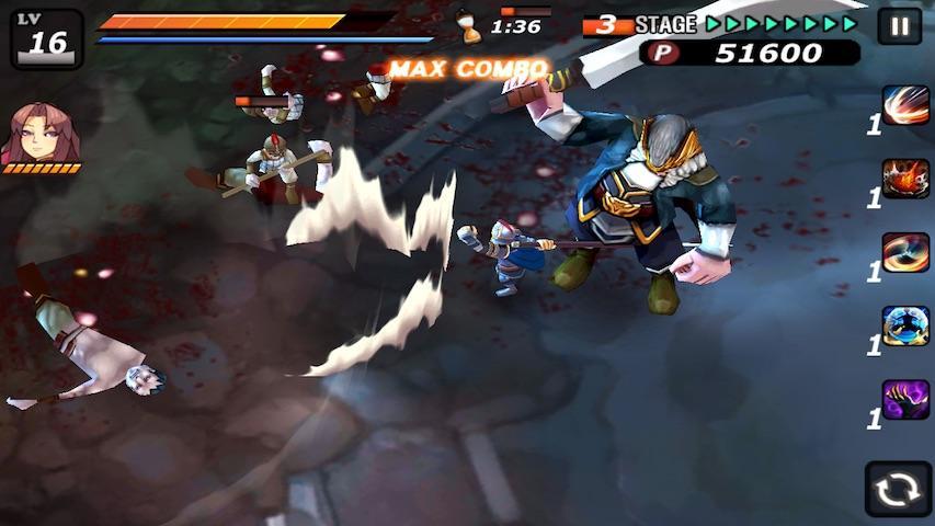 android Samurai Combat - 3D bataille Screenshot 5