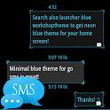 Ice Minimal Theme GO SMS Pro icon