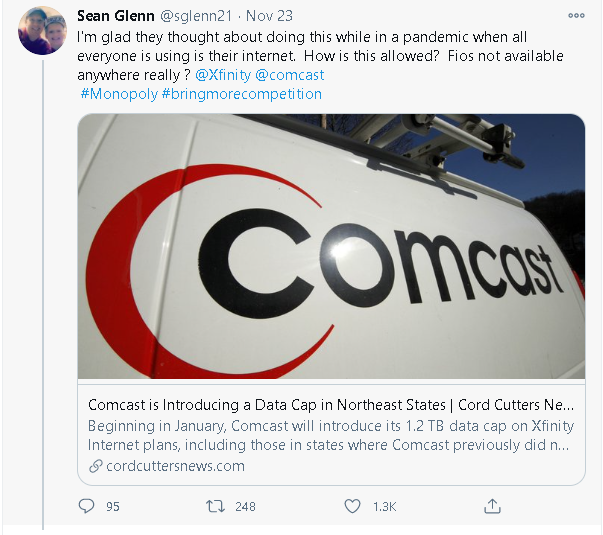 Comcast Draws Outrage From Customers for Its Latest Data Cap Move 5