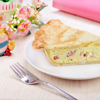 Italian Easter Ham and Cheese Pie