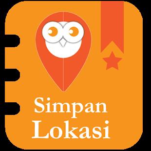 Simpan Lokasi - náhled