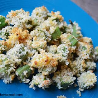 Oven-Baked Crunchy Okra