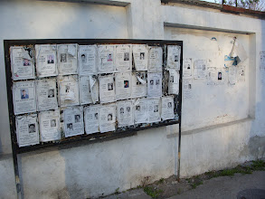 Photo: Nakroloze- posters which honor the dead