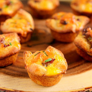 Mini Sausage Quiches
