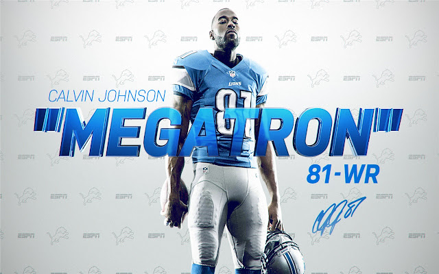 Calvin Johnson Themes New Tab