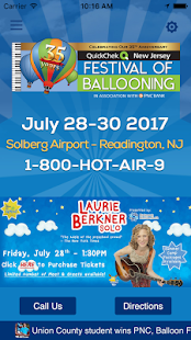 The QuickChek New Jersey Festival of Ballooning- screenshot thumbnail