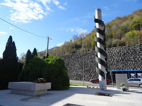 Photo: spomenik žrtvama fašističkog terora