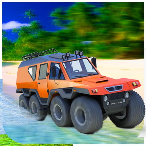8 Wheeler Russian Truck Sim