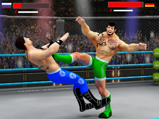 Stars Wrestling Revolution 2017: Real Punch Boxing 2.2 screenshots 5