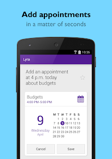 Lyra Virtual Assistant Screenshot