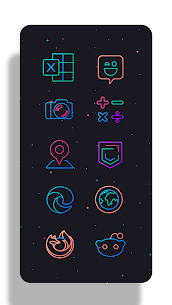 Lines Chroma – Icon Pack 8