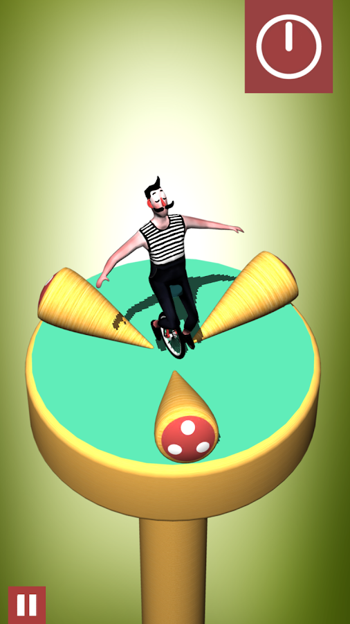 Bamba: an unicycle circus adventure- screenshot