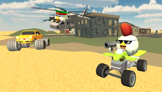 Chicken Gun Mod Apk (Unlimited Money) 2