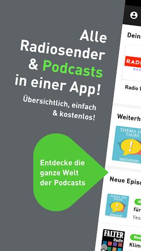 radio.at - Radio und Podcast screenshot 1