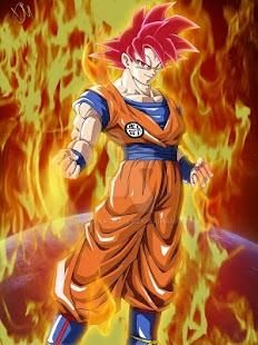 Goku SSG Wallpaper Offline - náhled