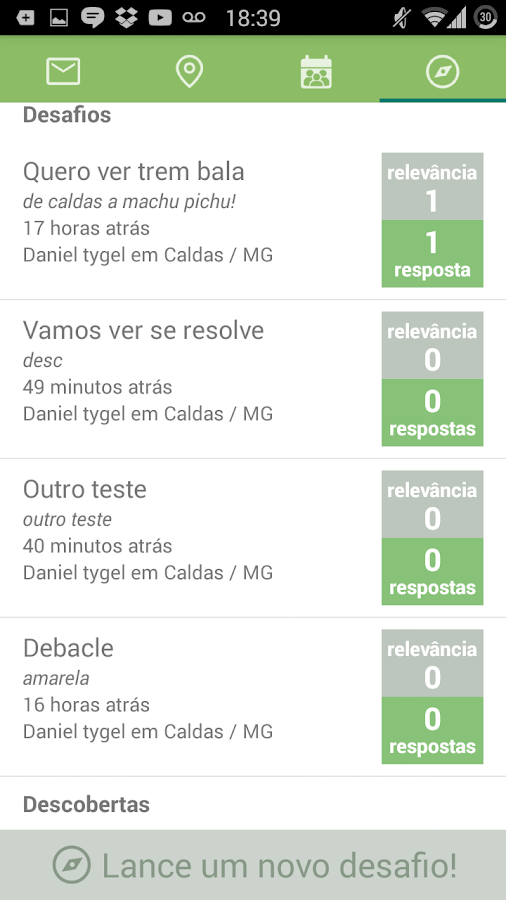 Responsa- screenshot