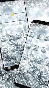 Silver Diamond Sparkle Theme 3