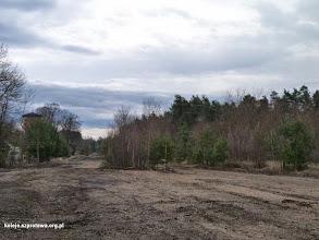 Photo: Widok na południe w kierunku dawnej stacji