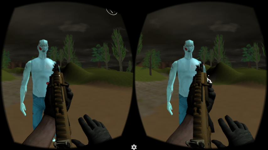 Zombie Gun - VR Shooter- screenshot