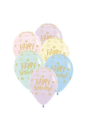 Ballonger, happy birthday sunshine 6st