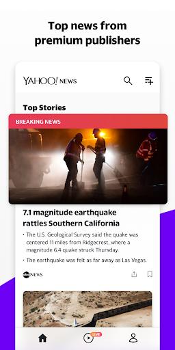 Yahoo News 10.1.3 screenshots 1