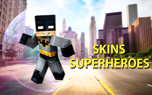 Skins Superheroes for Minecraft PE - náhled