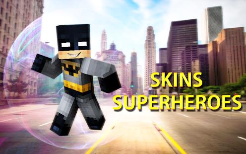 Skins Superhelden Für Minecraft PE Apps Bei Google Play - Skins fur minecraft installieren