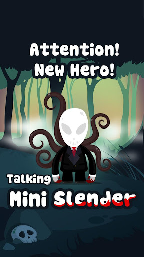 Beat Slender Man in Forest