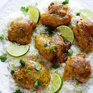 Easy Lime Chicken.