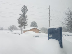 Flagstaff has Record Snowfall