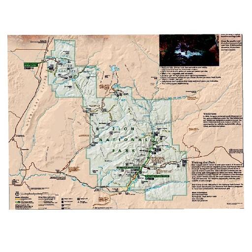 Zion Park Tour Maps Aligned Offline