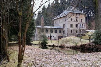 Photo: Hammermühle Neunzehnhain bei Wünschendorf im Erzgebirge Sachsen  März 2011 / Fotostandort etwa wie bei vorheriger Karte   Foto: Reiner Teichler