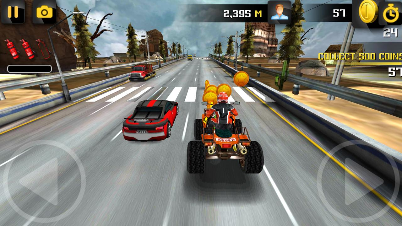 Turbo Racer - Bike Racing- screenshot