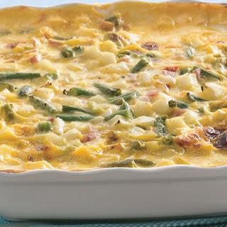 Creamy Ham and Potato Casserole.