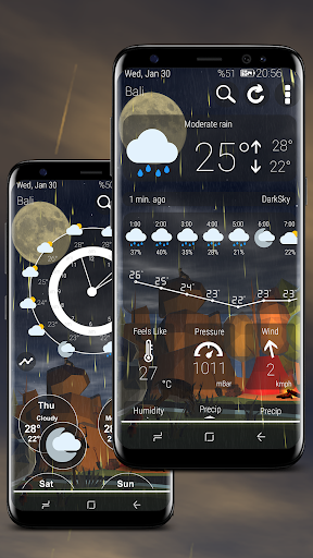 Screenshot for Weather Nature 3D in United States Play Store