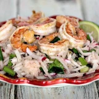 Shrimp and Jicama Salad