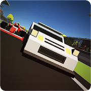 Blocky Fast Cars: SkidStorm Racing