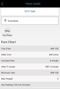 Magic Sewa Cabs screenshot 2