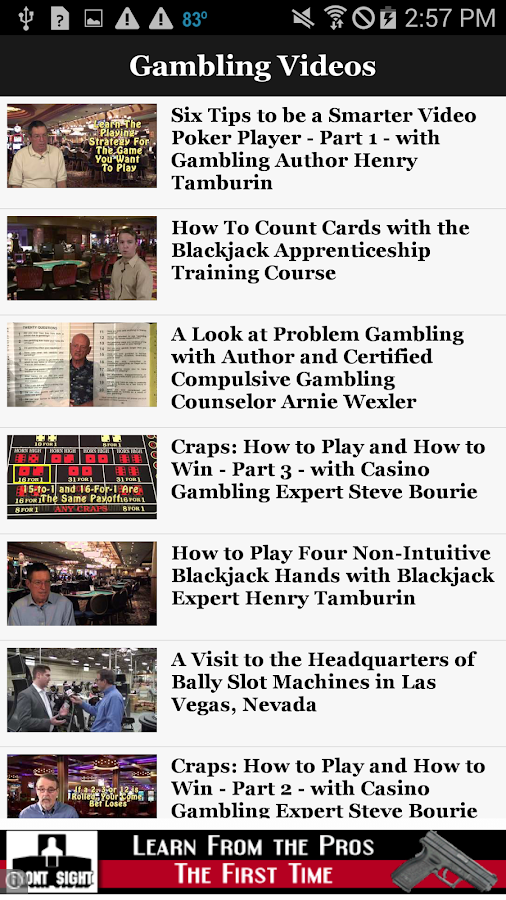 American Casino Guide- screenshot