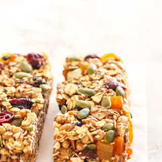 DIY Fruit and Nut 'Birdseed' Bars.