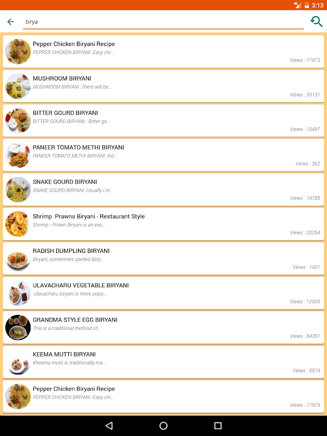Vahchef vahrehvah recipes- screenshot