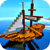 Pirate Craft - Ship Building