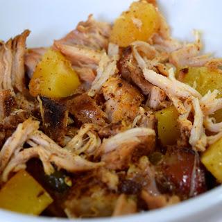 Crockpot Pineapple Pulled Pork