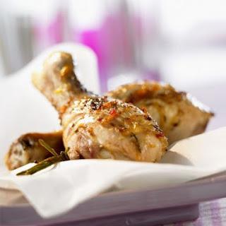Marinated Baked Chicken Legs
