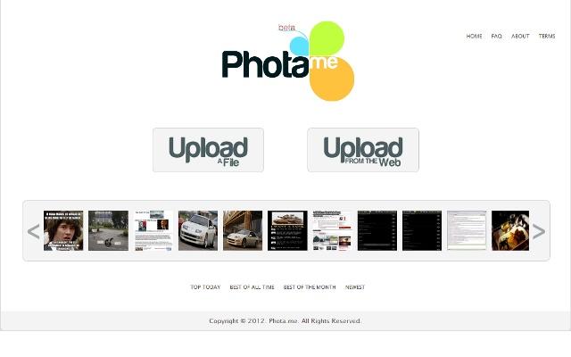 Phota.me Image and Screenshot Uploader