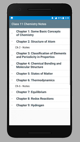 Download Class 11 Chemistry Notes APK latest version app by