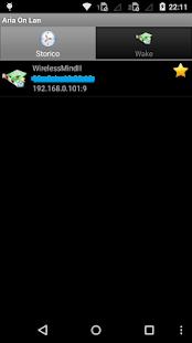 AriaOnLan Screenshot