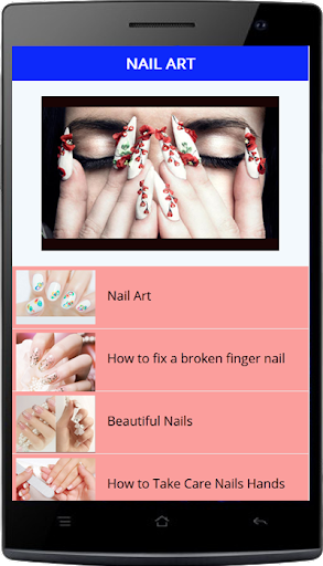 Nail Art Design Step by Step