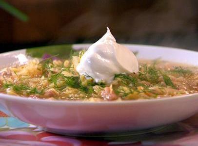 Sweet N Saur Cabbage Soup Recipe